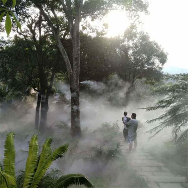 广州园林人造雾设备景观高压雾喷系统雾森主机厂家