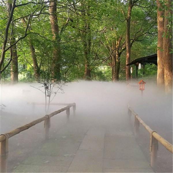 景观人造雾主机操作简单喷泉高压喷雾设备厂家直销