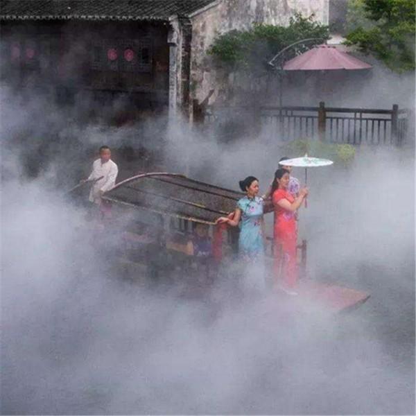广州鑫奥喷泉水池水雾设备园林雾森设备操作简单价格美丽