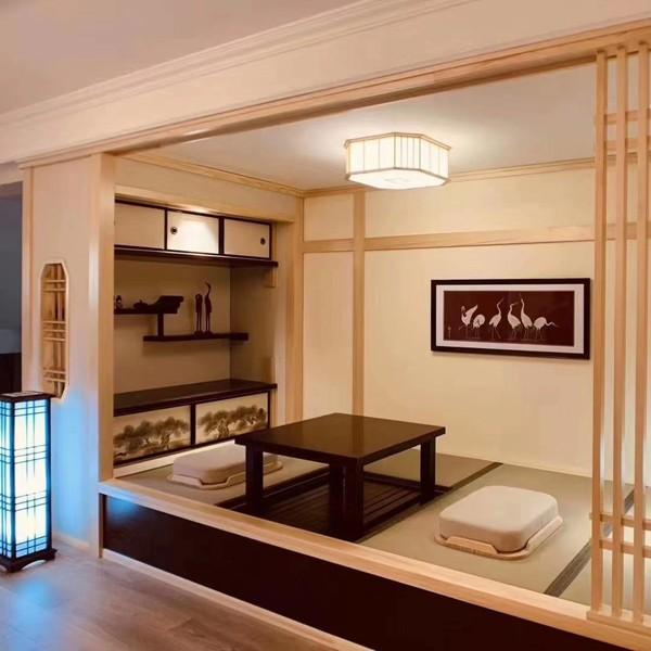 青岛榻榻米老店,青岛大屋和室榻榻米,正宗日式风格定制