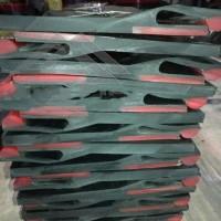 聚氨酯橡胶板 皮带输送机档皮 聚氨酯挡板