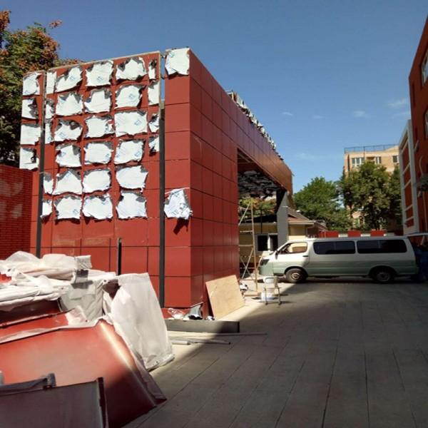 北京大兴幕墙铝单板家装室内外门头铝单板加工生产厂家
