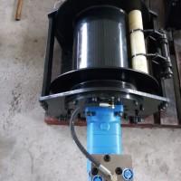 广东装载机液压卷扬机 抓木头提升4吨液压绞盘液压绞车