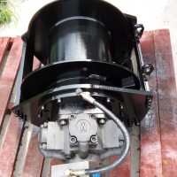 船用自由下放液压卷扬机 单绳5吨液压绞车带离合