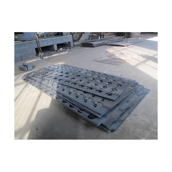 除尘器花板 120袋孔不锈钢孔板 多孔钢隔板 异形定制