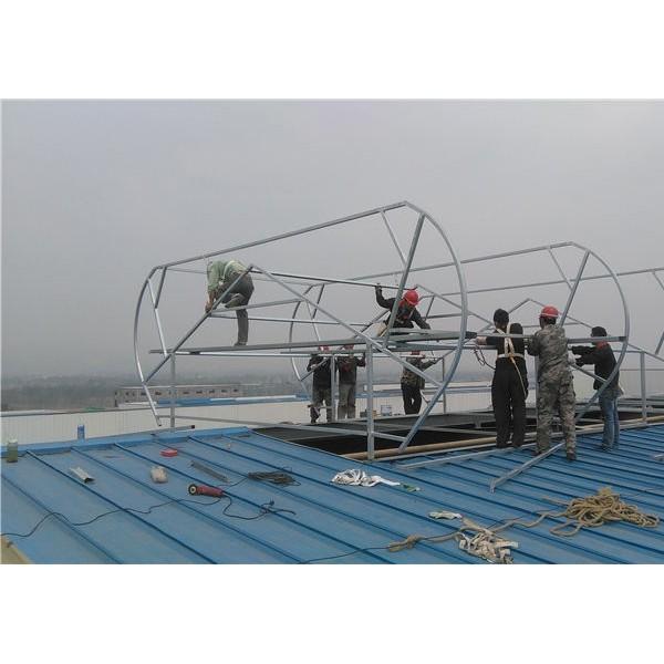 圆拱型电动采光天窗|RTC铝制屋顶风机|屋顶通风器 厂家直供