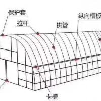 朝陽鍍鋅養雞組裝鋼管大棚廠家