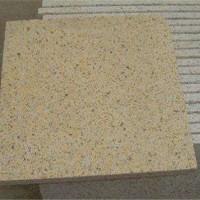 黄锈石火烧板供应商 黄锈石火烧板异型加工