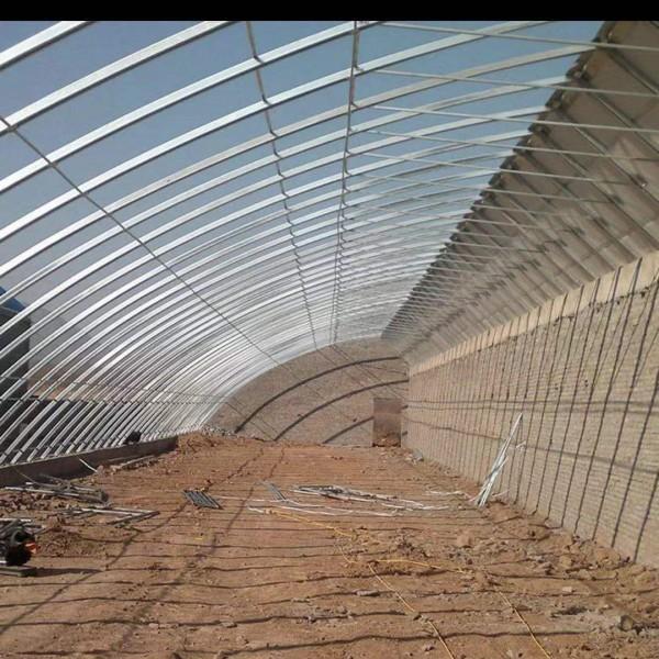 南陽高鋅養殖組裝鋼管大棚廠家