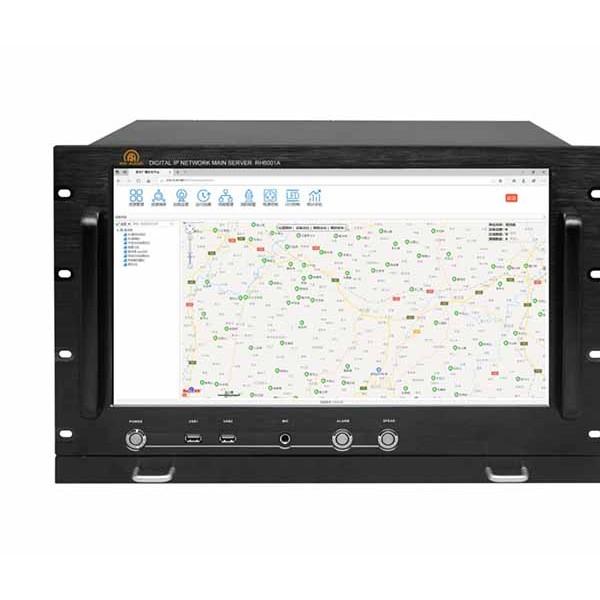 瑞皇17.3寸數字ip網絡廣播服務器自主研發公共系統背景音樂
