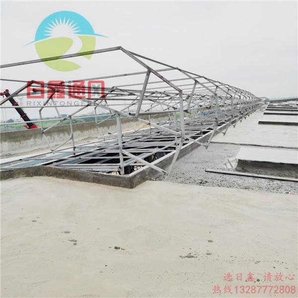 厂家批发 全结构防水通风器-抗台风型气楼-玻璃钢屋顶风机