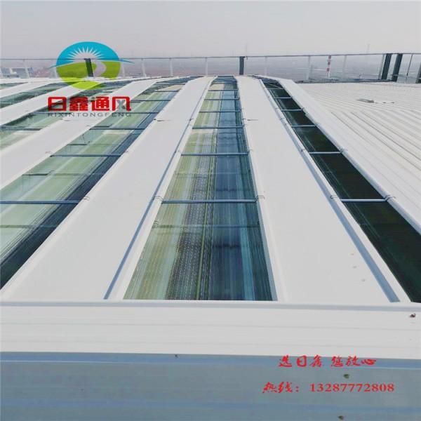 启闭式通风装置-薄型通风天窗-T35轴流式屋顶风机 厂家直供