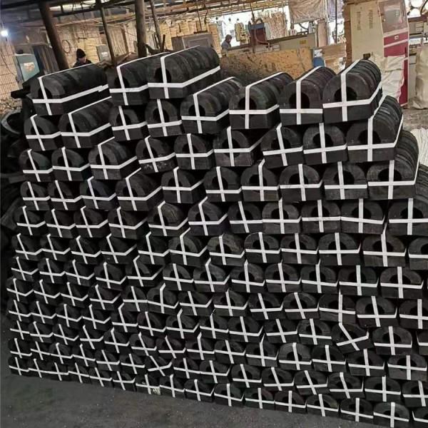 聚氨酯发泡管托 硬质保冷管托 空调管道木托