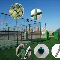 運動場圍網生產廠家 運動場防護欄批發價格
