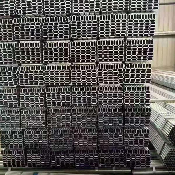 沁陽養牛大棚包塑鍍鋅管設計發貨