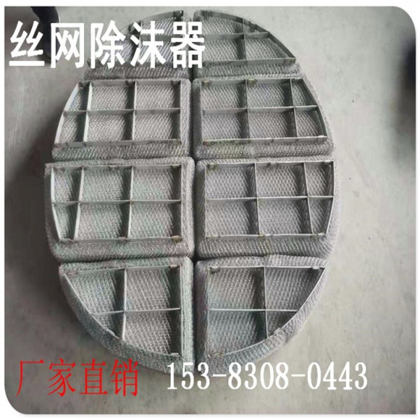 波浪式絲網除沫器 絲網除霧器廠家直銷 定制絲網除霧器