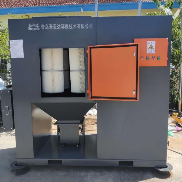 山東工業煙塵除塵器-青島多濾筒除塵設備-可制定